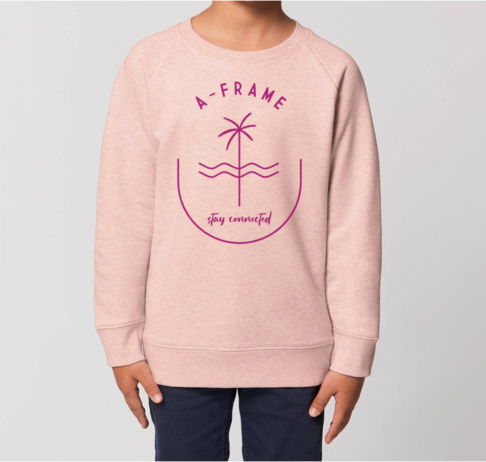 Kids Pulli - Stay Connected - Pink