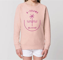 Lade das Bild in den Galerie-Viewer, Kids Pulli - Stay Connected - Pink