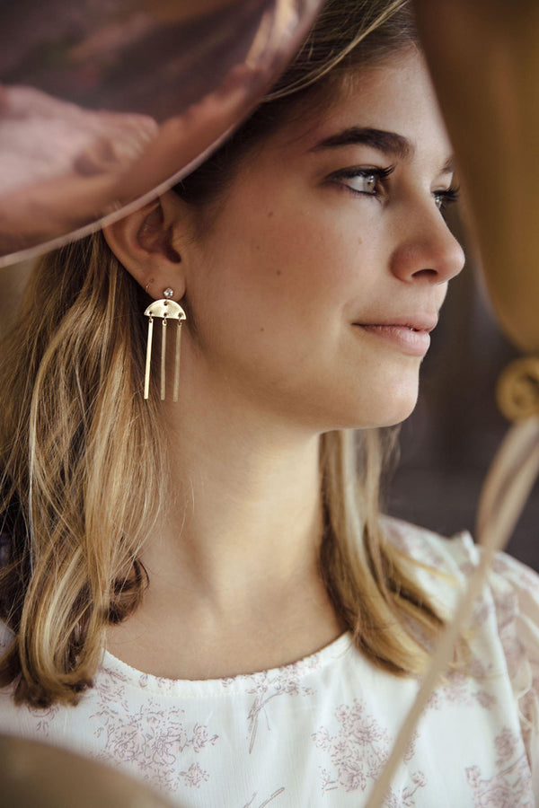 Windchime Earrings - Emily Warden Designs Site