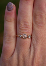 Champagne Rose Ring - Emily Warden Designs Site
