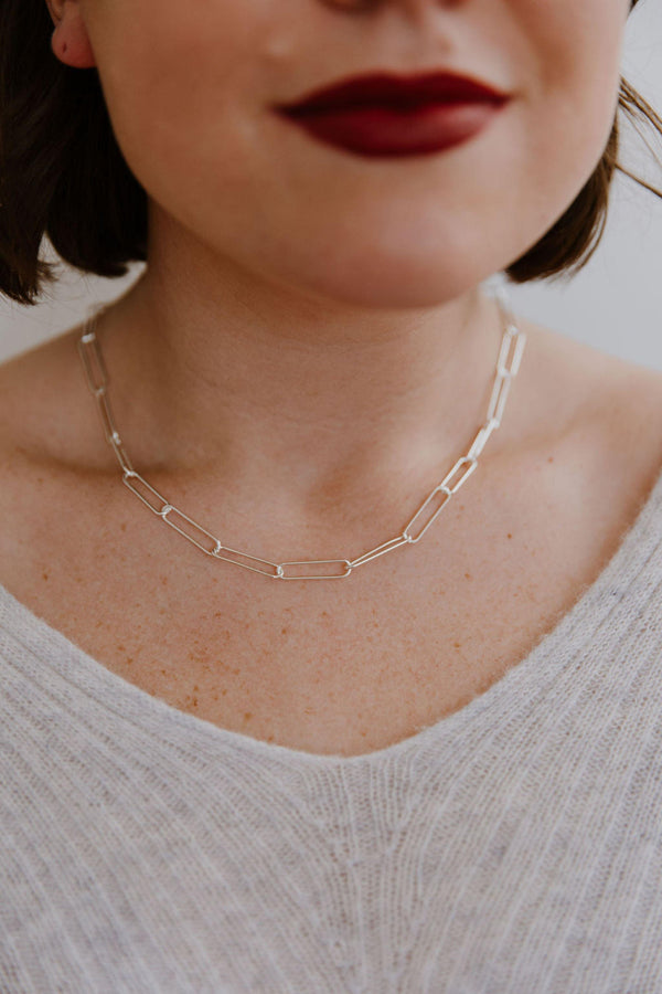 Paperclip Chain - Emily Warden Designs Site