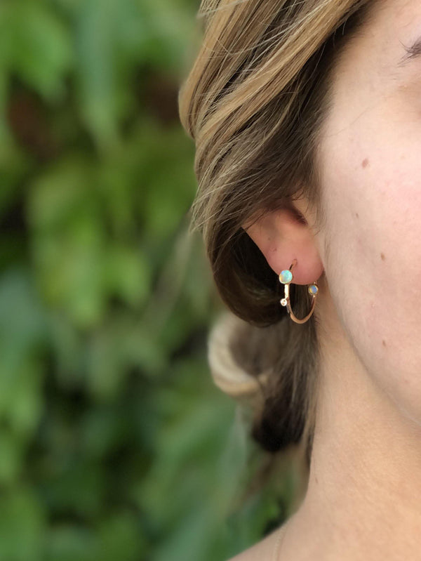 Medium Orbit Hoops - Emily Warden Designs
