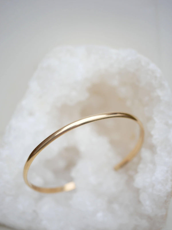 Classic Gold Cuff - Emily Warden Designs Site