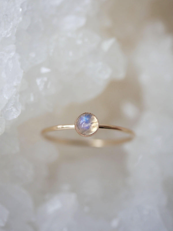 Moonstone Dainty Stack - Emily Warden Designs Site