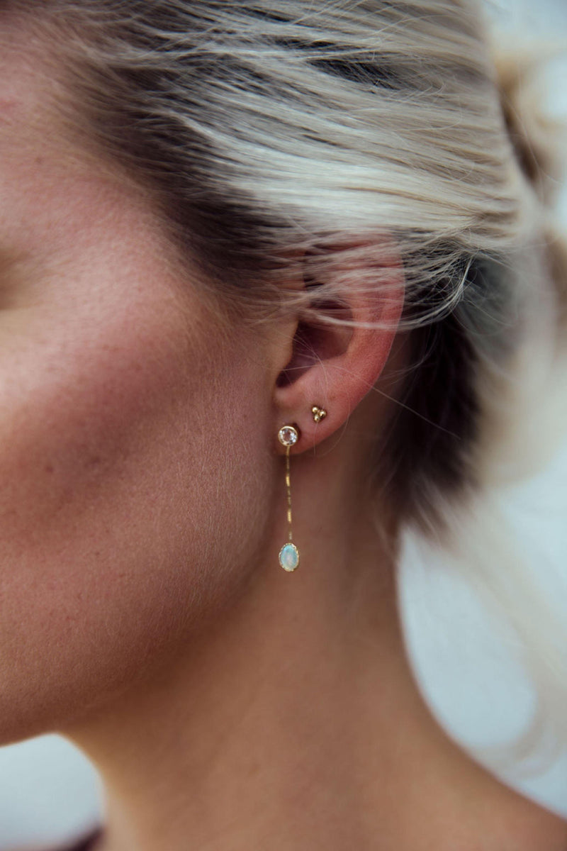 Beaded Trio Studs - Emily Warden Designs Site