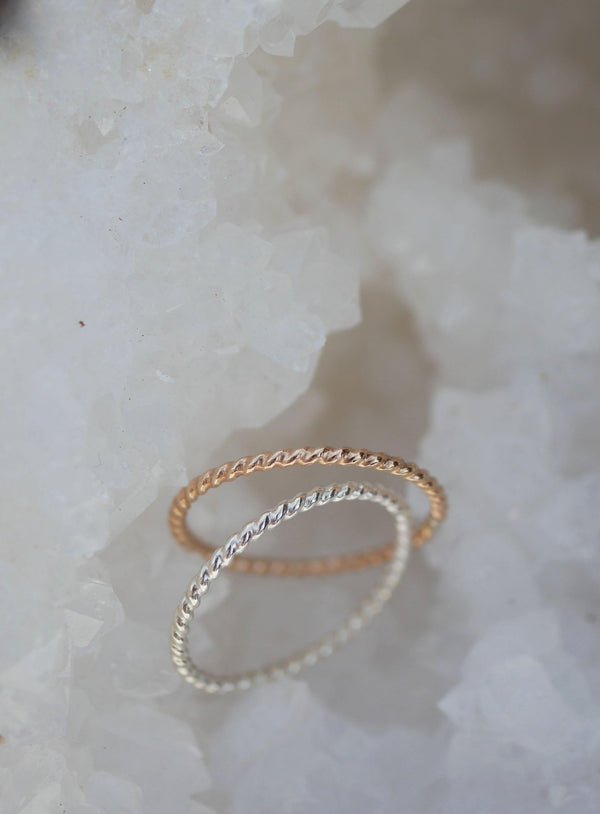 Twist Stack Ring - Emily Warden Designs Site