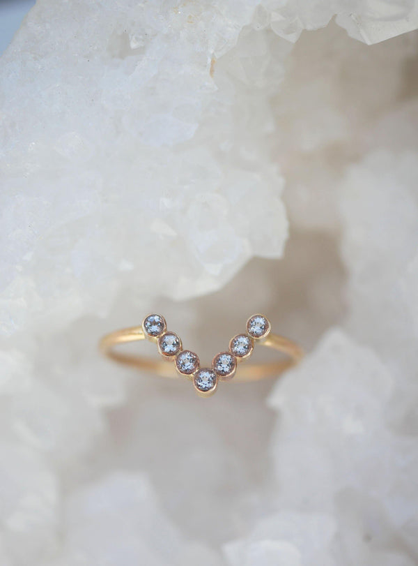 Studded Triangle Band - Emily Warden Designs Site