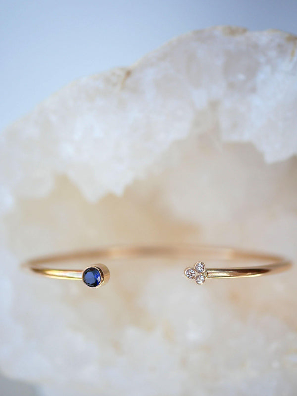 Tanzanite Arrow Cuff - Emily Warden Designs Site