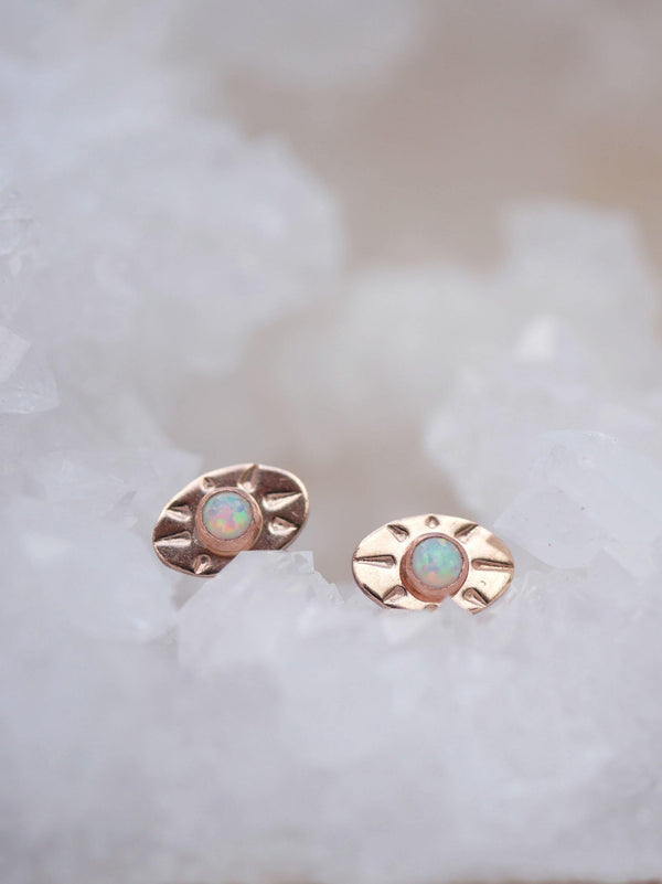 Opal Seeing Eye Studs - Emily Warden Designs Site