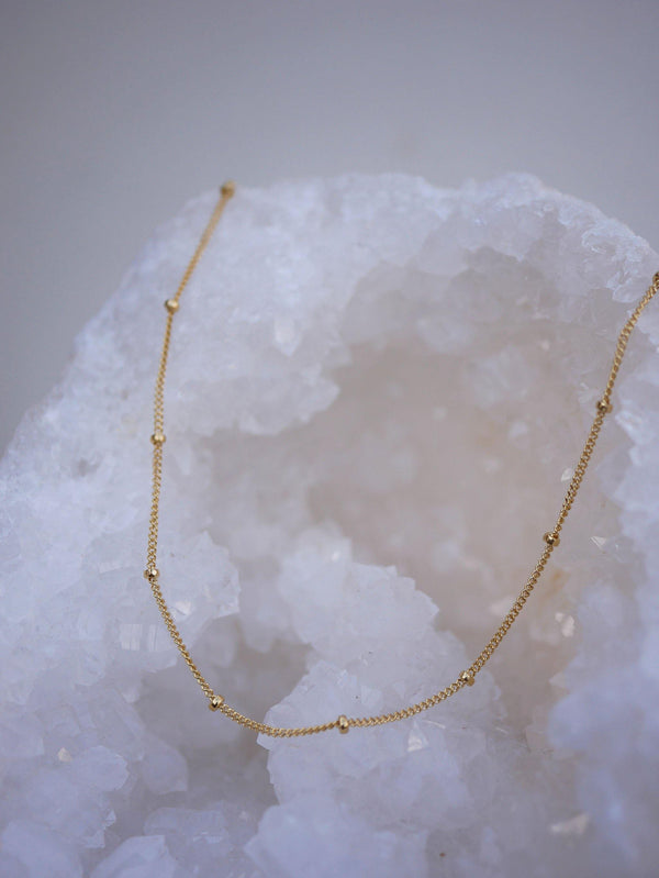 Beaded Layering Chain - Emily Warden Designs Site