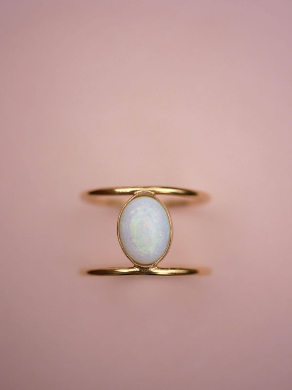 Opal Cage Ring - Emily Warden Designs Site