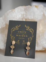 Mini Ellipse Studs - Emily Warden Designs