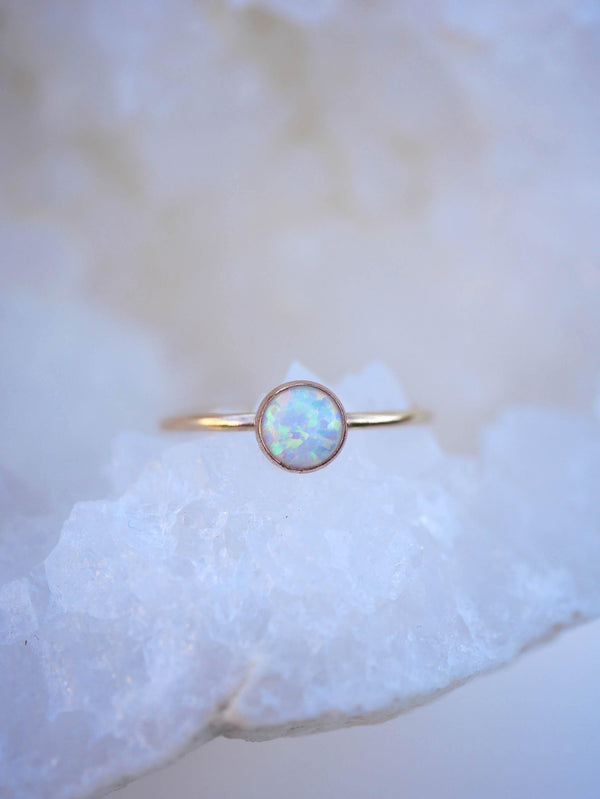 Classic Opal Ring - Emily Warden Designs Site