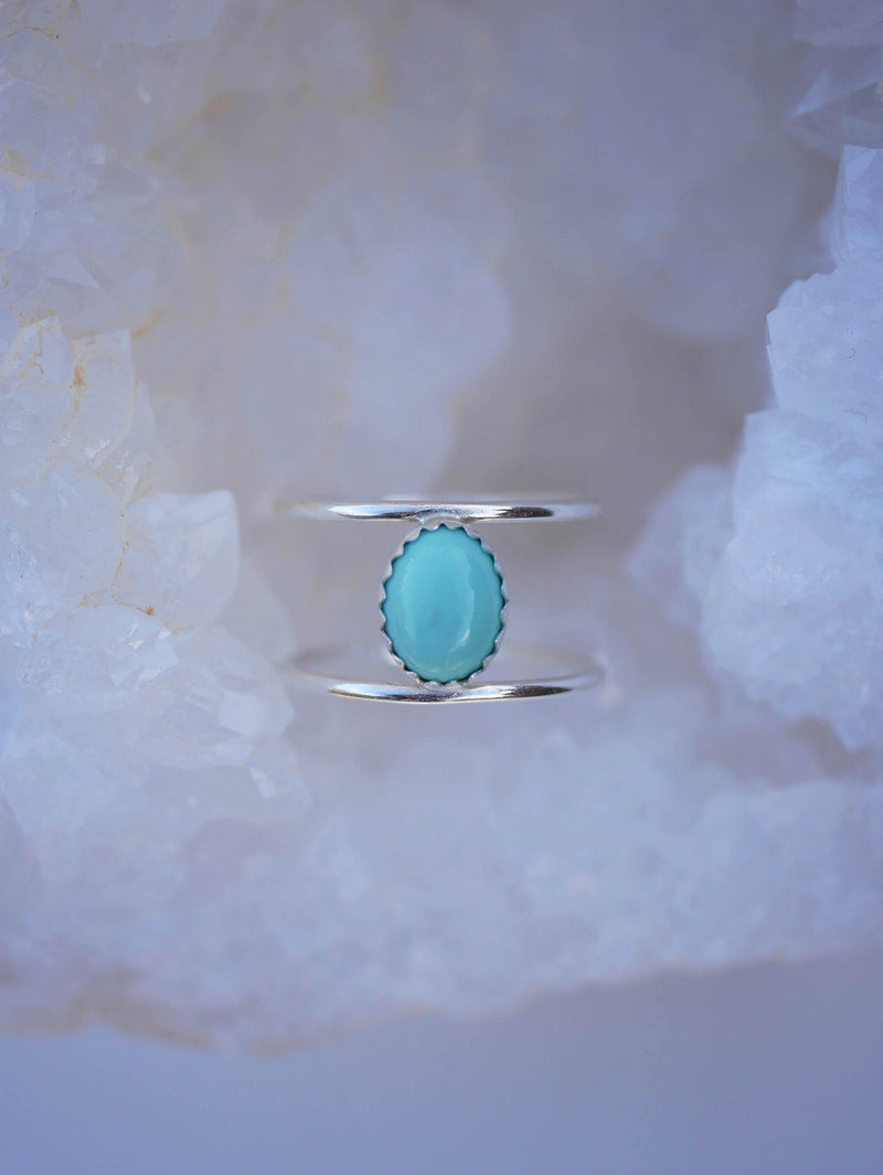 Turquoise Cage Ring - Emily Warden Designs Site