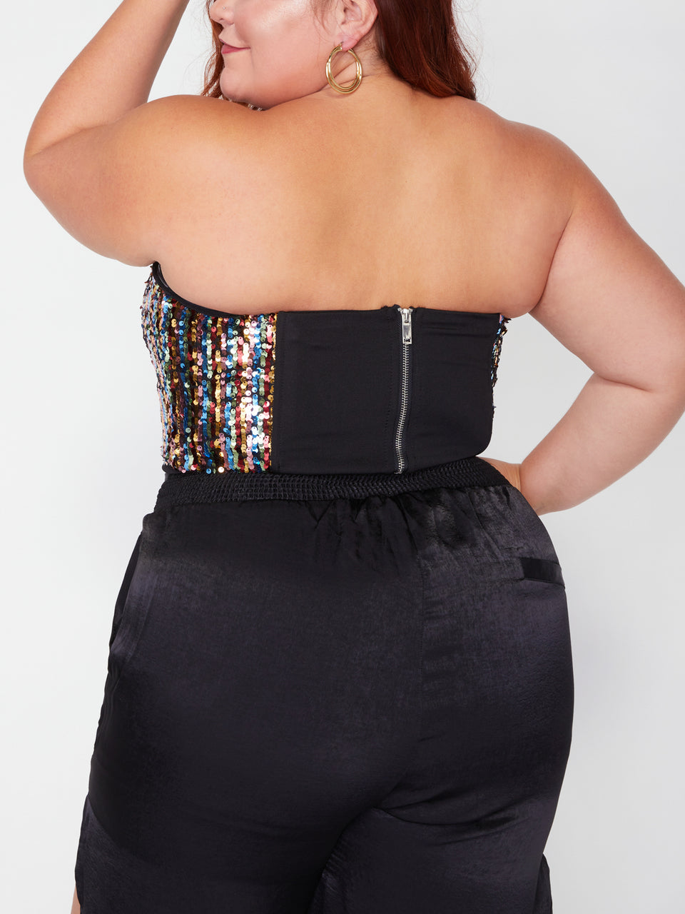 SONCY_Don't Forget Your Sparkle Bustier Top_Rainbow