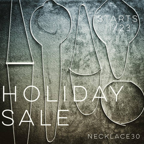 Holiday Sale begins today!