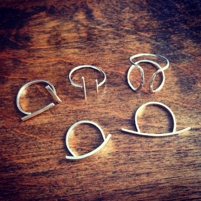Double Bar Rings