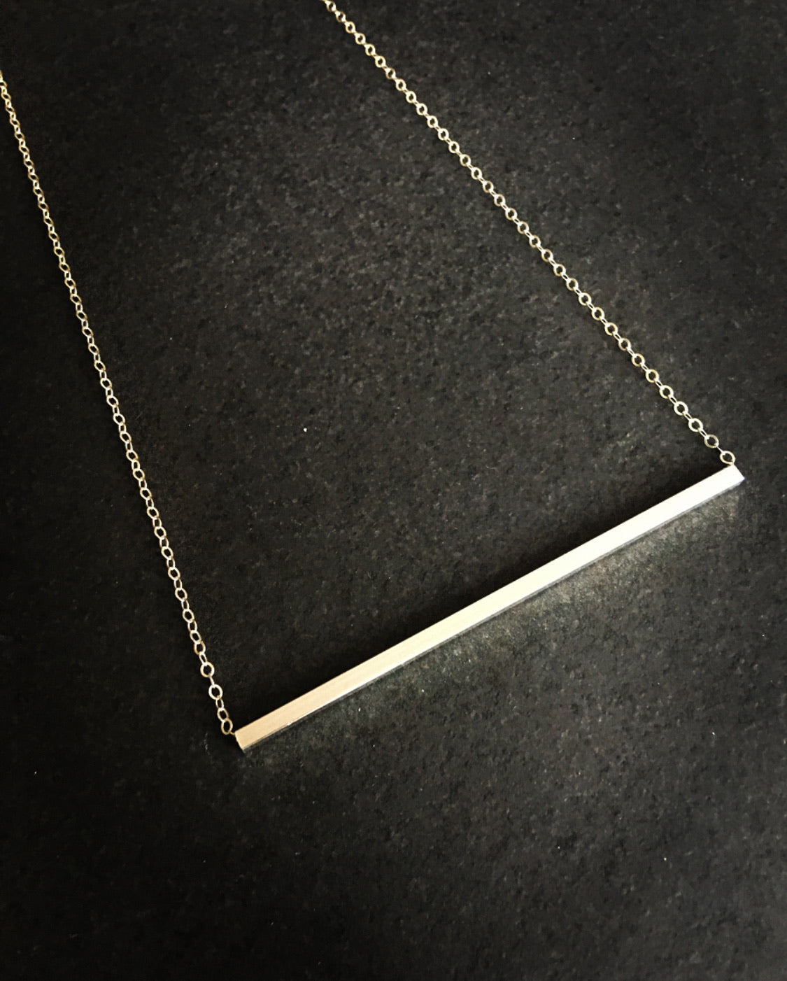 Square Cylinder Necklace