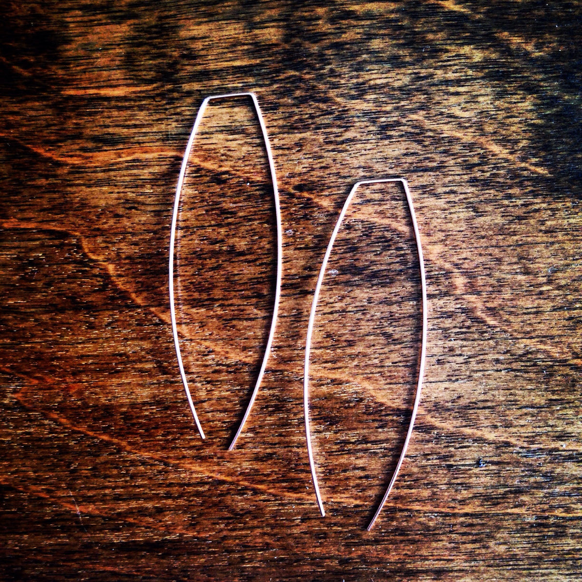 Threader Earrings - Long Arcs