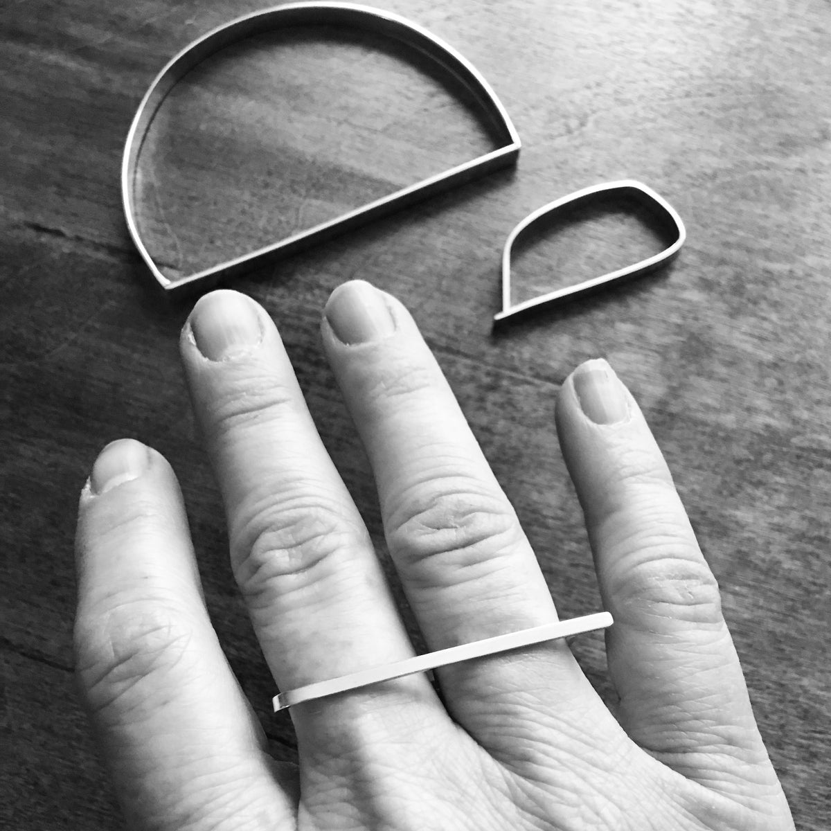 Minimalist Double Finger Ring