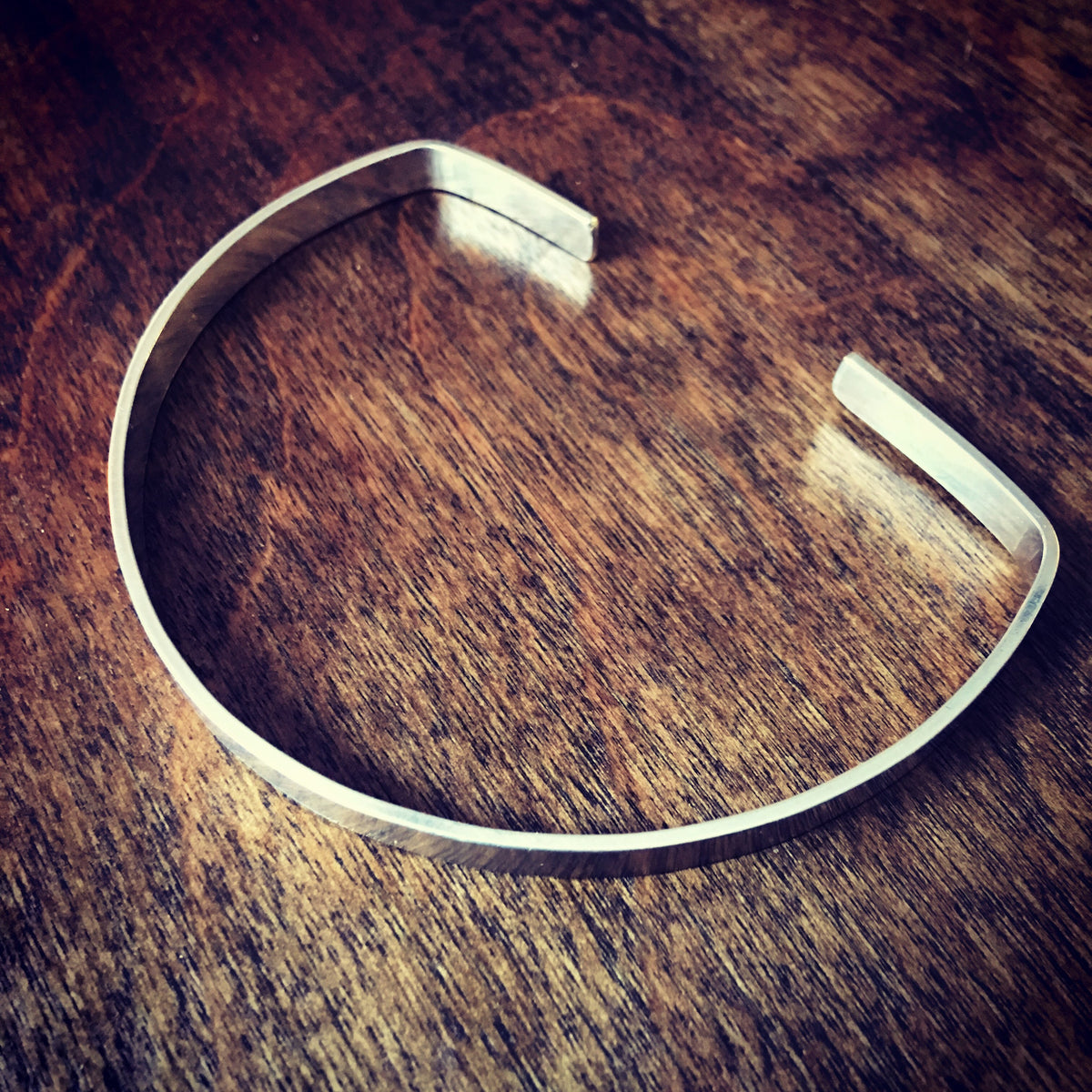 Open Arched Cuff in Sterling Silver