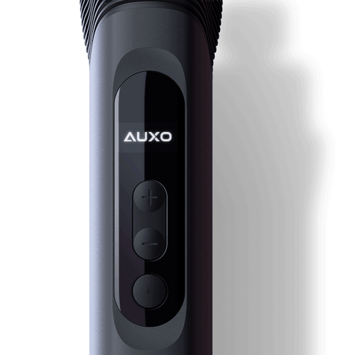 AUXO Cira - Concentrate Vaporizer - Precise temperature control with OLED display for customizing distinctive needs.