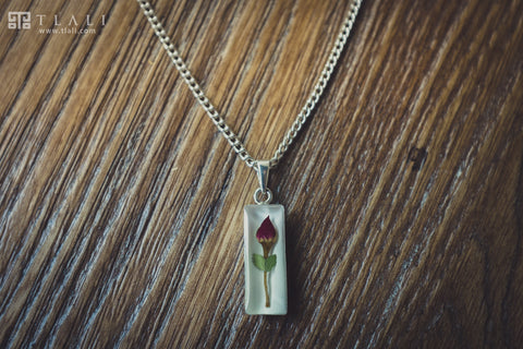 Rose Jewelry: Cylinder Pendant