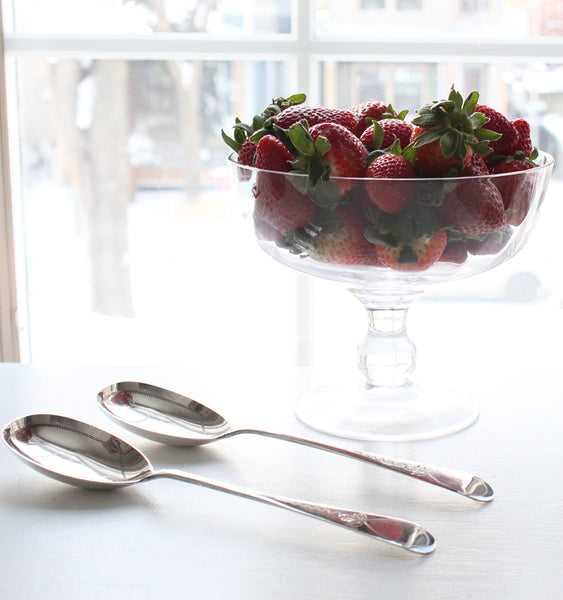 Antique Set of Berry Spoons