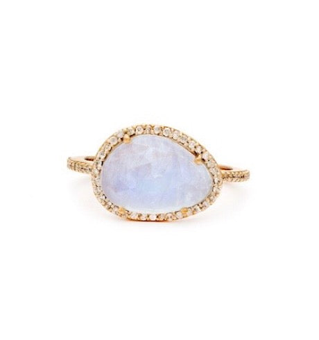 Moonstone Etereo Ring