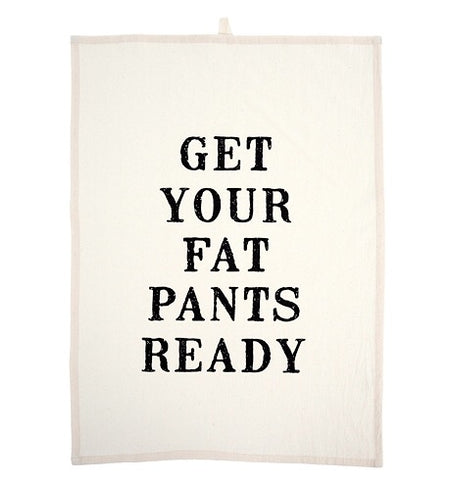 Fat Pants Tea Towels