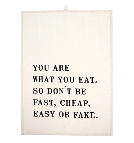 What You Eat Tea Towels