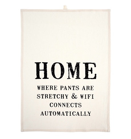 Home Is Tea Towels