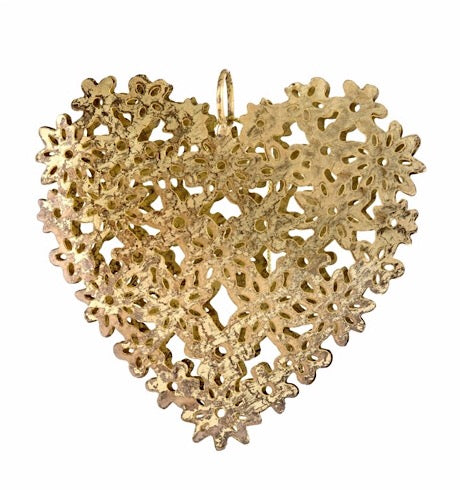 Iron Lace Heart Ornament