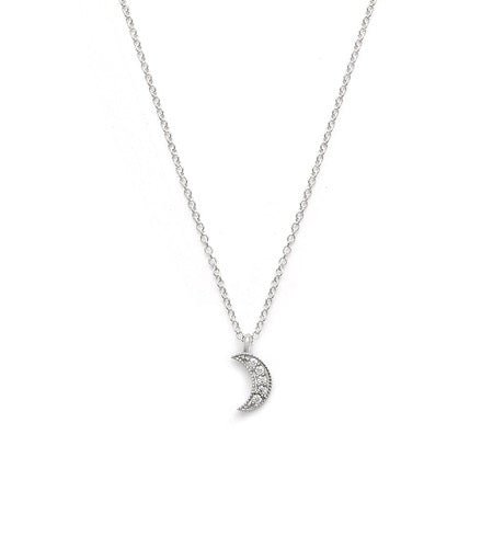 Luna Necklace Silver