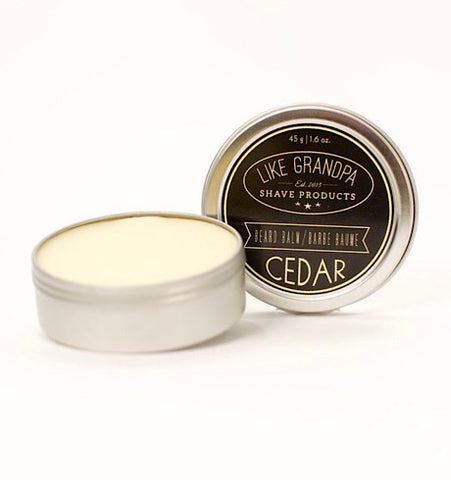 Like Grandpa Cedar Beard Balm