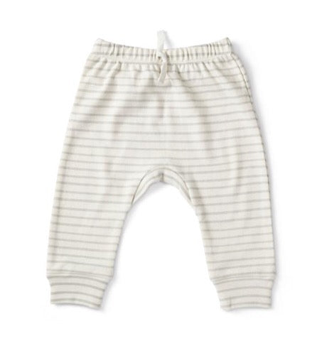 Stripes Away Harem Pant, Pebble
