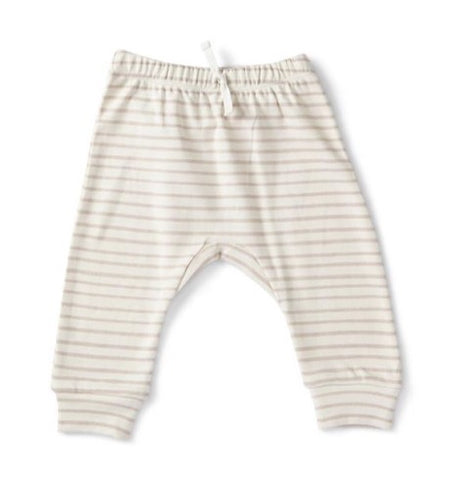 Stripes Away Harem Pant, Petal