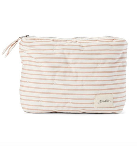 On The Go Travel Pouch, Petal