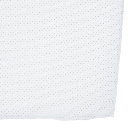 Pin Dot Crib Sheet, Grey