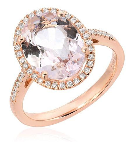 One Of A Kind Morganite Ring
