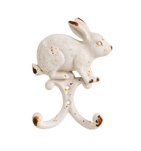 White Rabbit Wall Hook
