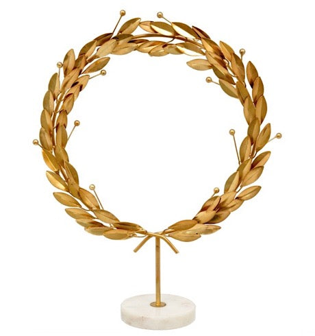 Grecian Wreath On Stand