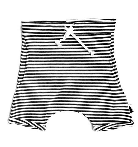 Kids Bamboo Shorts, Striped