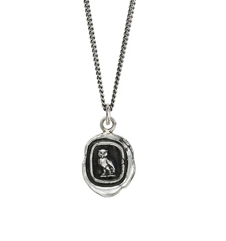 Watch Over Me Talisman, Sterling Silver