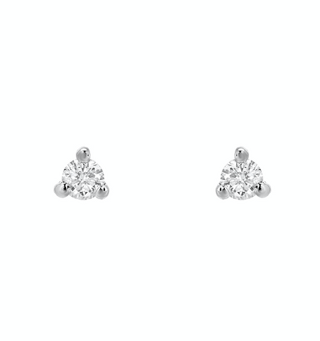 Liven Mini Prong Set Diamond Posts