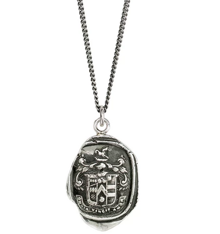 Love Conquers All Talisman, Sterling Silver