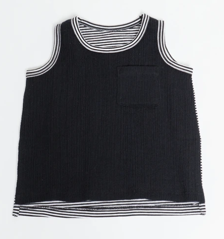 The Remix Tank - Black Stripe