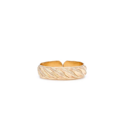 Gold Bardot Ring