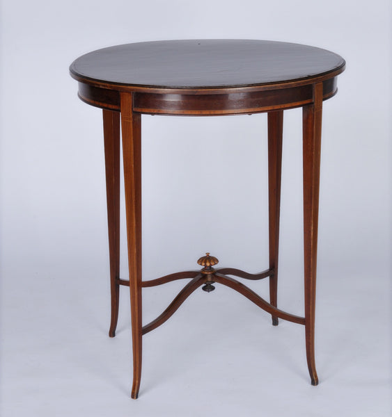 Victorian Inlaid Round Table