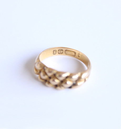 Antique Braided Ring